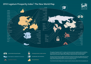 Legatum Institute Prosperity Index