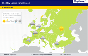 The Hay Group Climate Map