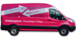 woman to woman labour bus
