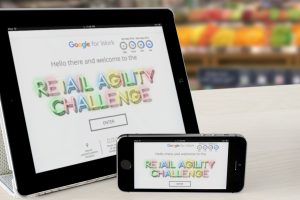 Google The Retail Agility Challenge tablets