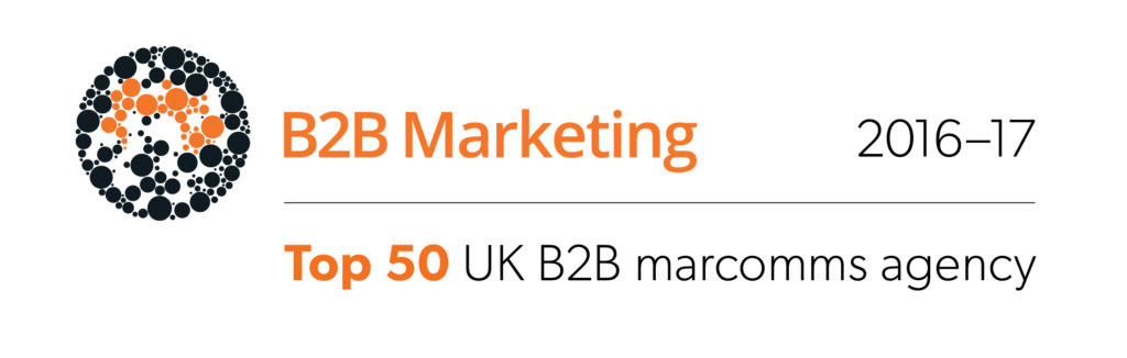 Top 50 UK B2B marcomms agency logo